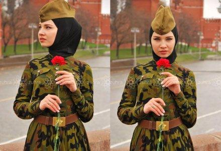 Платье ко Дню Победы выпустил мусульманский дизайнер