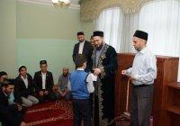 Муфтий РТ наградил победителей Межрегионального конкурса чтецов Корана (Фото)