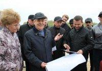 Минтимер Шаймиев побывал на месте Болгарской исламской академии