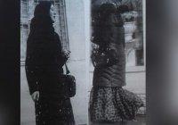 Женщину в платке приняли за террористку