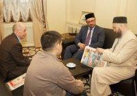 Муфтий РТ провел встречу с директорами казанских газет (Фото)