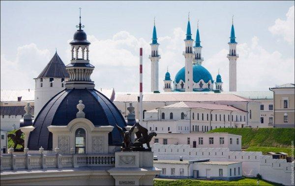Казань стала одним из самых популярных городов среди туристов