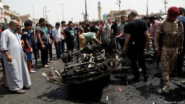 Теракт в Багдаде.