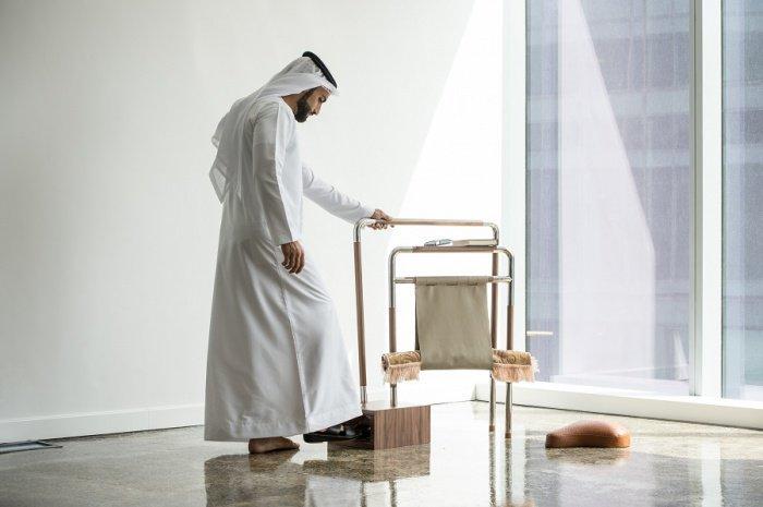 Саудовский дизайнер создал устройство, облегчающее совершение 5-кратного намаза