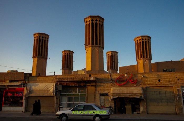 Таинственный город ловцов ветра в иранской пустыне