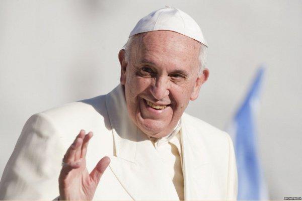 Глава римской католической церкви Франциск.