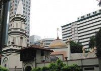 В Сингапуре восстановят уникальный «падающий минарет»