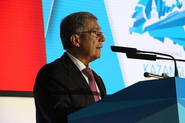 Выступление президента Татарстана
