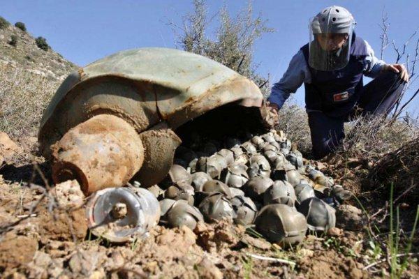 КСА могло использовать в Йемене кассетные бомбы.