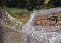 Болгария строит стену на границе с Турцией