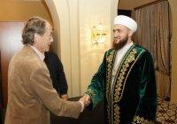 Муфтий РТ встретился с председателем президиума Международного совета соотечественников РФ (Фото)