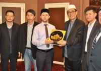 Санкт-Петербург посетили мусульмане из Китая (Фото)