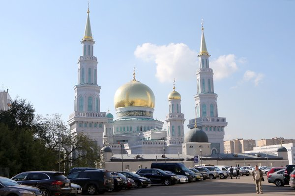 Схема мечети в москве