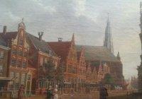В киевское посольство Нидерландов принесли картину 1784 года