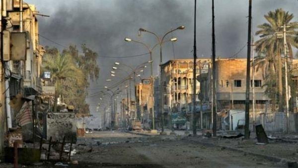 Иракская Фаллуджа.