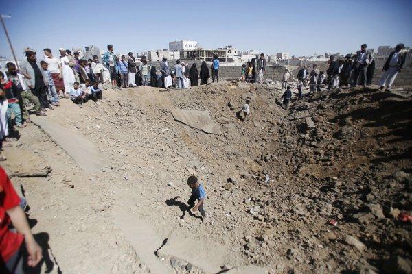 Гражданская война в Йемене.
