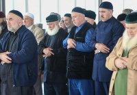 На Северном Кавказе совершили намаз по Мохаммеду Али