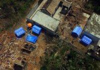Китайская провинция пострадала от торнадо (ВИДЕО)