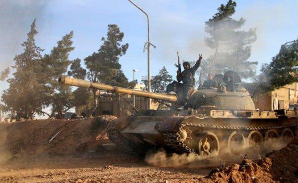 Правительственные войска наступают на Ракку.