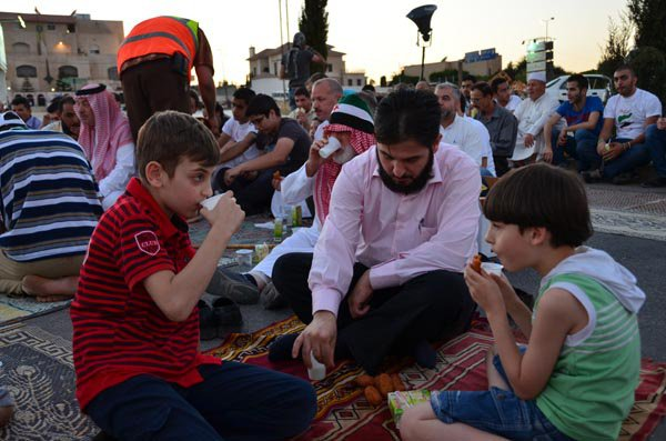 Рамадан в Сирии.