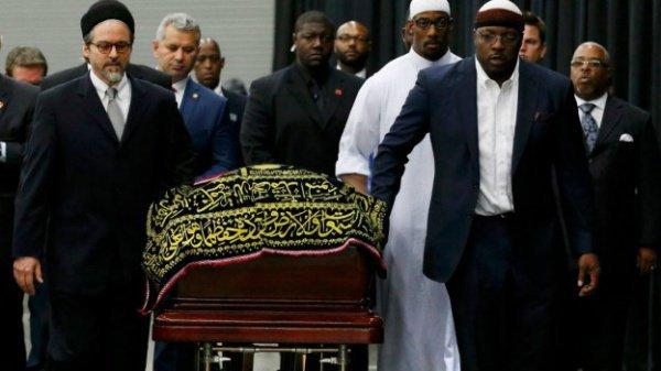 Похороны Мохаммеда Али.
