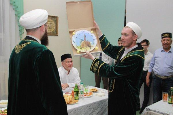Муфтий РТ в Альметьевске.