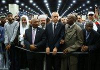 Эрдоган «оскандалился» на похоронах Мохаммеда Али