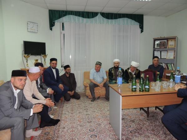 Встреча муфтия РТ с мусульманами Лениногорска.