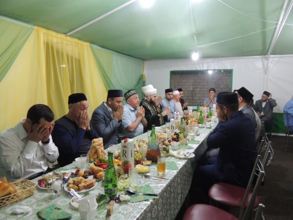 Ифтар в Лениногорске.