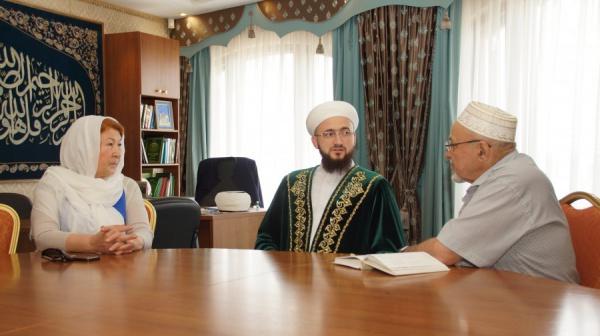 Совещание в казанской мечети Кул Шариф.
