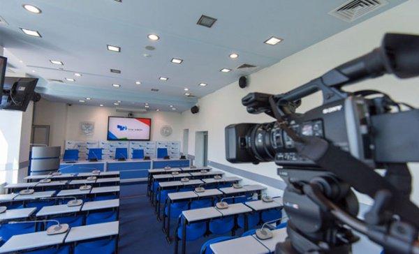 """Пресс-конференция в ИА """"Татар-информ""""."""