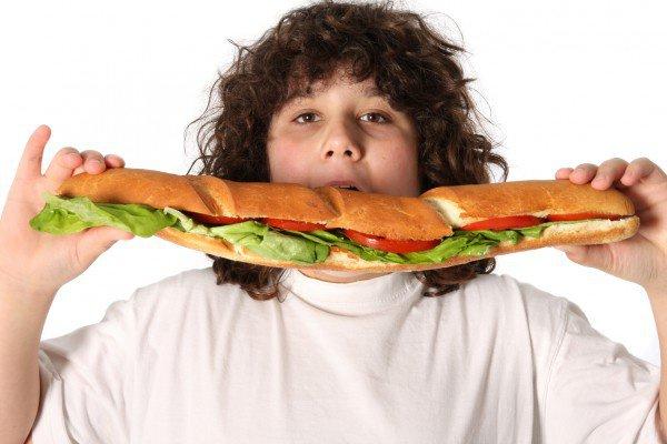 Детское ожирение в Саудовской Аравии.