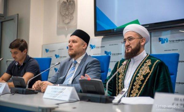 Пресс-конференция в Казани.