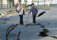 Эвакуация людей из-за ливней в Японии