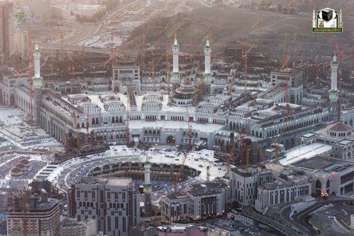 Так выглядит Мекка в Рамадан (13 фото)