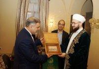Муфтий РТ встретился с руководителем представительства Ирана (Фото)
