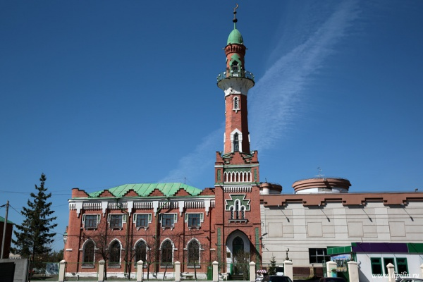 Закабанная мечеть, Казань.