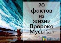 20 фактов из жизни Пророка Мусы (а.с.)