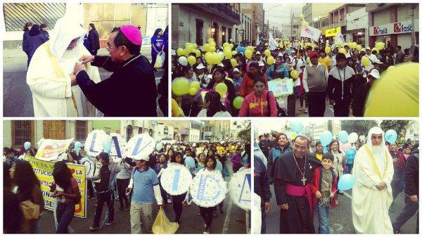 Марш в Перу.