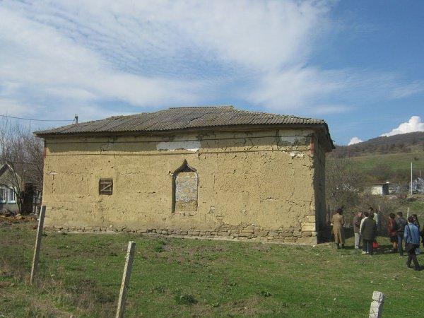 Здание мечети до начала ремонтных работ.