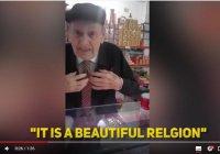 """Коран тронул мое сердце"": 80-летний испанец впервые услышал Коран"
