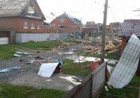 Разрушительный ураган в Башкирии