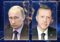 Первый за полгода разговор Путина и Эрдогана продлился 40 минут