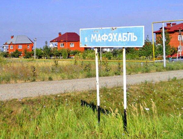 Для беженцев из Сирии в поселении Мафэхабль Майкопского района Адыгеи было выделено 800 земельных участков.