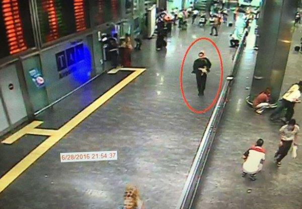 Один из террористов.
