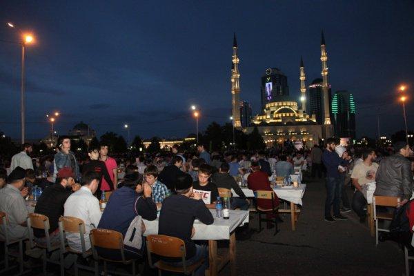 В Чечне Грозном пройдет массовый ифтар