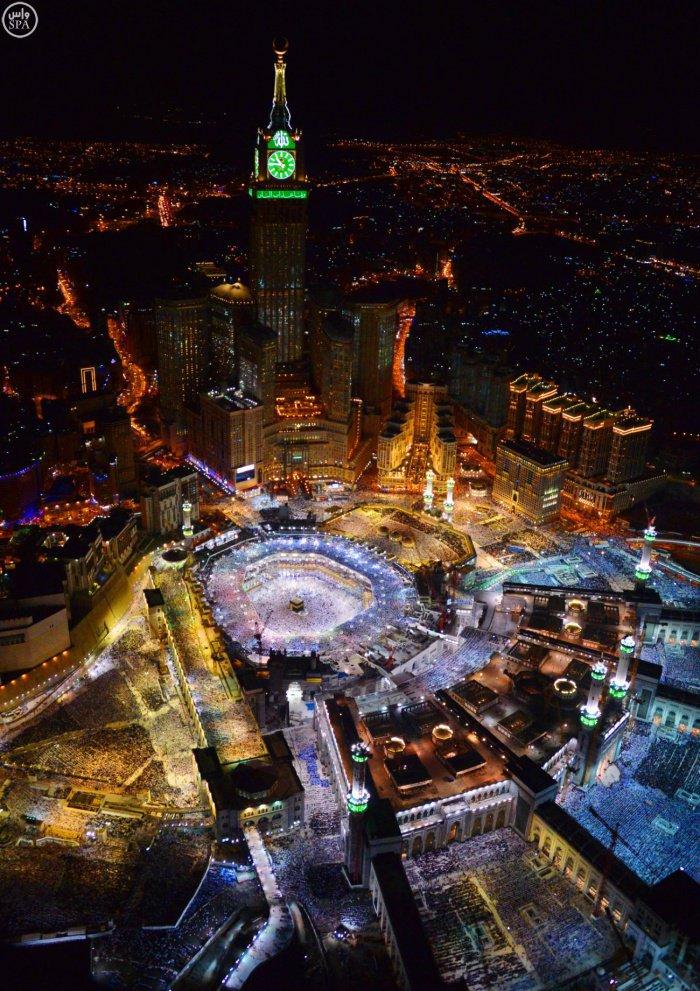 Так прошла Ночь предопределения в самом сердце ислама