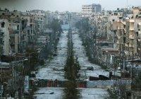 В Сирии введен трехдневный режим тишины