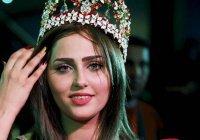 «Мисс Ирак» возглавила демонстрацию против терроризма (Видео)