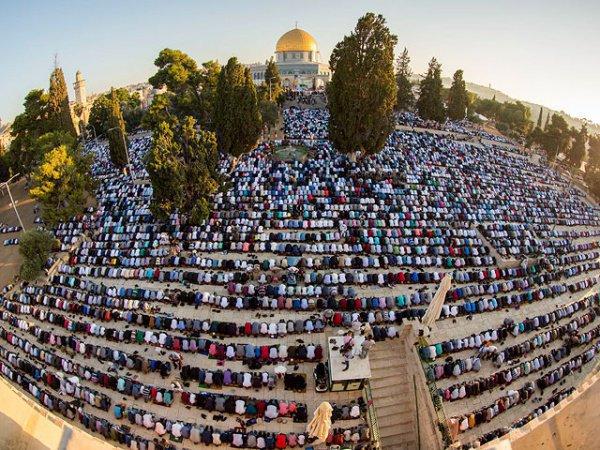 Ид аль-Фитр на Храмовой горе.